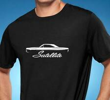 1968-70 Plymouth Satellite Classic Muscle Car Tshirt NEW FREE SHIPPING