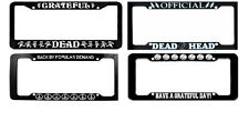 GRATEFUL DEAD CAR LICENSE PLATE FRAMES ~ DIFFERENT DESIGNS AVAILABLE