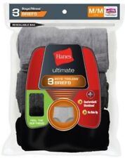 3-Pack Boys Hanes Ultimate Dyed Brief w/ComfortSoft Waistband - Assorted - S-L