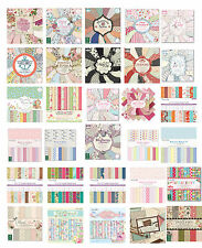 Full Paper Pads ** Cardmaking ** Scrapbooking ** First Edition ** Dovecraft **
