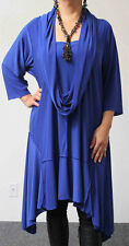 New Crazycuts long lagenlook Plus Size Tunic Dress.FITS UP TO 4XL