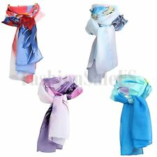 New Fashion Women Pretty Long Soft Chiffon Scarf Wrap Shawl Stole Scarves Hot
