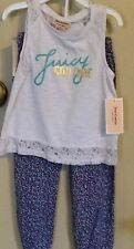 Juicy Couture Toddler Girls Summer 2pc Set/ Sizes: 3T, 4T/ NWT