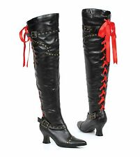 "2.5"" Thigh High Boot With Laces. Womens"