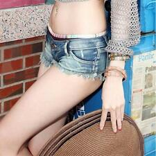New Sexy Women Denim Jeans Shorts Hot Pants Low Waist Super Mini Short Pants