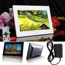 10inch HD 16:9 Digital Photo Frame Album Picture MP4 Movie Player With Calendar