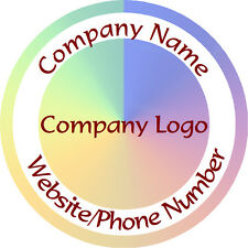 Personalised Business Name Stickers Thank You Seals Your Logo Labels - L1092