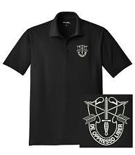 United States Army - Special Forces Group De Oppresso Liber Dri-Mesh Polo Shirt
