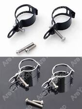 Adjustable Turn Signal Relocation Fork Clamps 33mm 39mm 41mm 45mm