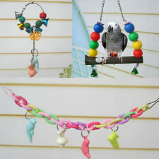 Chew Toys Ladder Minerals New Elevated Swing Birds Parrot Teeth  Supplies Bars