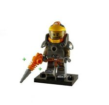LEGO SERIES 12 - SPACE MINER FIGURE + DRILL + FREE GIFT - FAST - BESTPRICE - NEW