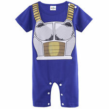Baby Boys Dragon Ball Z Costume Romper Infant Vegeta Jumpsuit Playsuits 0-18M