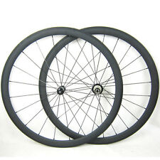 Only 1390g 700C 38mm Clincher Straight Pull Carbon Wheels Road Bike Wheelset