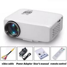 1080P Mini Projector Home MulitMedia Theater LCD USB TV VGA SD HDMI Cinema LOT