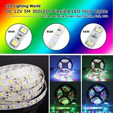 5M DC 12V SMD 3528 LED Strip Lights 5050 LED Lights Strip 5630 LED Strip Lamp