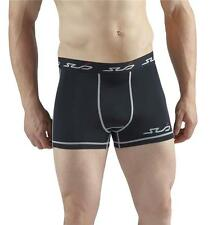 SUB DUAL Mens Compression Boxer Shorts - skin tight fit gym pants, sports briefs