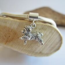 Lamb Sterling Silver European-Style Charm and Bracelet- Free Shipping