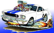 Shelby GT350 Mustang Muscle Car Art Print NEW