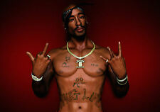 A4 Poster - 2 Pac (Tupac Shakur Thug Life Gangster Rap Music Picture Print Art)