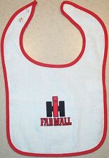 Infant IH Farmall Embroidered Bib (4 colors)