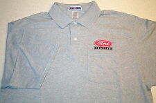 Mens Ford Tractor Logo Embroidered Polo Shirt w/Pocket (5 colors)