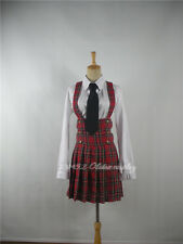 APH Axis Powers Hetalia Girl's School Cosplay Costume Custom Made-Free shipping