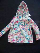New The Children's Place Toddler Girls Fleece Pullover Size 2T Pink Hearts NWT