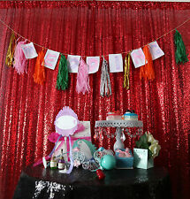 Red Sequin Photo Backdrop,Wedding Photo Booth/Christmas, Photography Background