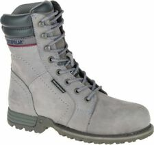 NEW Womens CAT FOOTWEAR Frost Grey ECHO WP STEEL TOE Work Boot Shoes P90565