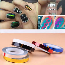 1 Pcs Solid Colors Rolls Striping Tape Line Nail Art Tips Waves Striping Decor