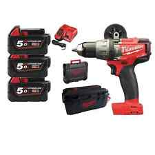 Milwaukee M18 Vario Set - Hammer drill M18FPD set+two more M18 Devices