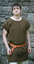 ROMAN-Dark Age-Saxon-Re enactment-VIKING-LARP- 100% WOOL TUNIC-ALL SIZES xxxxx