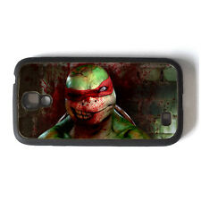 Ninja Turtles TMNT Zombie Raphael Samsung Galaxy S4 Rigid Rubber Case