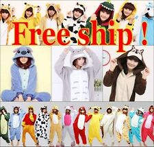 Hot New Unisex Adult Pajamas Kigurumi Cosplay Costume Animal Onesie Sleepwear