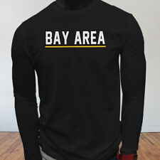 State Tourist Tour Travel Bay Area Vacation Proud Mens Black Long Sleeve T-Shirt
