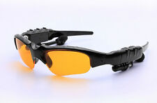 Wireless Stereo Bluetooth Sunglasses Night Glasses Headset Earphone Headphone