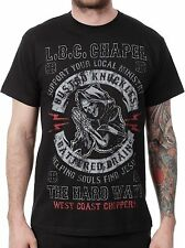 WEST COAST CHOPPERS HELLS GUARDIAN 100% COTTON GRAPHIN TEE SHORT SLEEVE