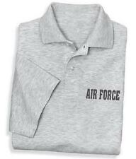 Polo Golf Shirt  United States Air Force USAF Asst. Colors sizes Small To 5XL