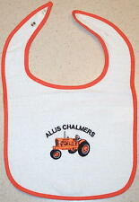 Infant Allis Chalmers WD-45 Embroidered Bib (4 colors)