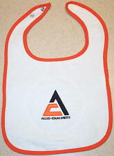 Infant Allis Chalmers Triangle Embroidered Bib (4 colors)