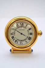 Cartier Art Deco Vintage Desk Alarm Clock 100% Authentic