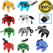 NEW Long Controller Game System for Nintendo 64 N64 Multiple Colors