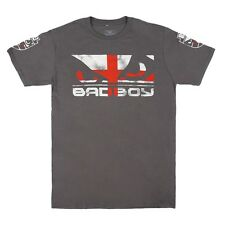 Bad Boy MMA Pride Walk In T Shirt UK Flag Team GB Clothing Top Casual Tee UFC