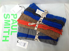 Paul Smith Authentic BNWT 100% Cashmere Cable Knit Scarf RRP £190