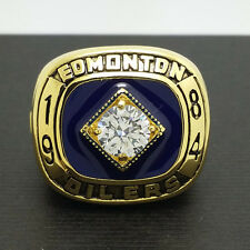 1984 Edmonton Oilers Hockey Stanley Cup Championship Ring 8-14Size Gretzky Gift