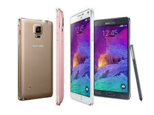 """Unlocked 5.7"""" Samsung Galaxy Note4 4G LTE Android GPS Smartphone 32GB AUAD"""