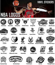 NBA Vinyl Decal Sticker Car Window Design Wall Art Sport Basketball Team Logos