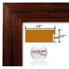 1.5 in Arkansas Cherry Maroon Picture Poster Photo FRAME MDF 24 in WIDE