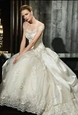 New Stunning white/ivory wedding dress custom size 2-4-6-8-10-12-14-16-18-20-22