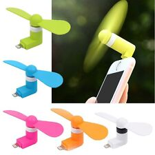 Portable Cell Phone Mini Electric Fan Cooling Cooler For iphone 5/6/ Android/USB